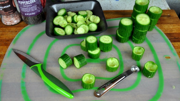 Crisp Cucumber Dill Bites